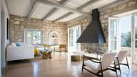 New Contemporary Rustic Interior in Croatia