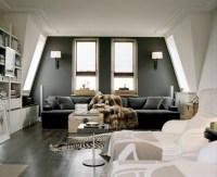 Living Room With Dark Dramatic Walls: 30 Ideas - Decoholic