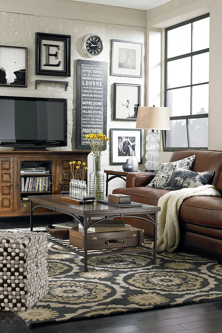 accent chairs to go with brown leather sofa levin sectional sofas 40 cozy living room decorating ideas - decoholic