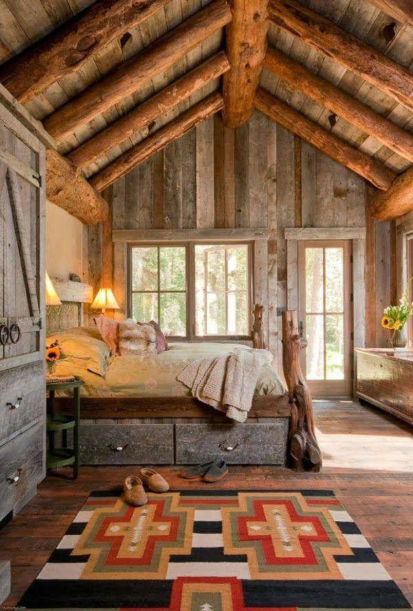 Rustic Bedroom Decorating Idea 7