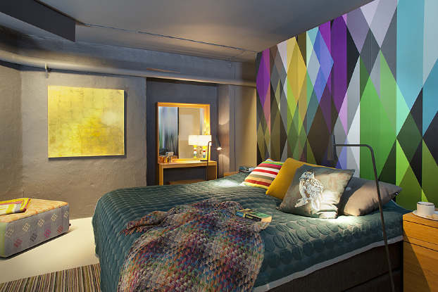 Urban and Fresh Interior With Colorful Touches  Decoholic