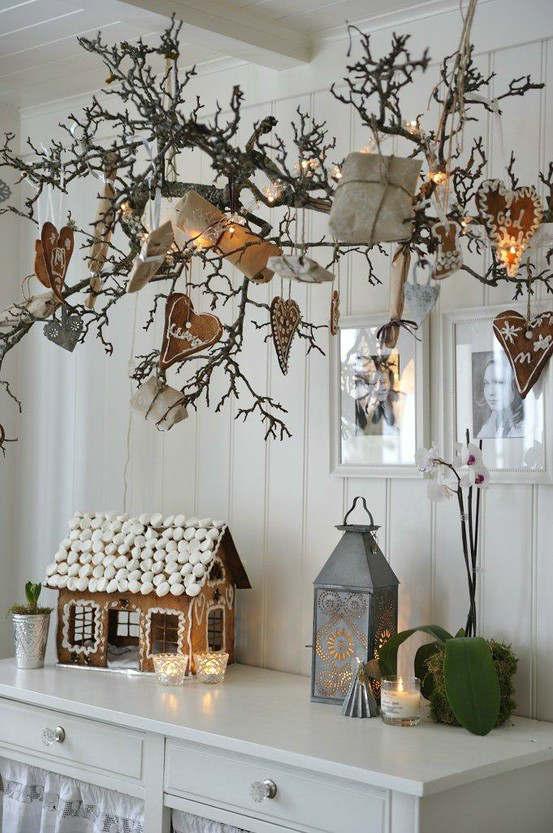 living room country decor cottage 33 best christmas decorating ideas decoholic idea 30