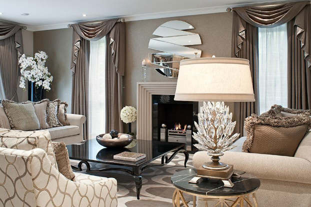 Interior Design With An Unmistakable Touch Of Glamour (33
