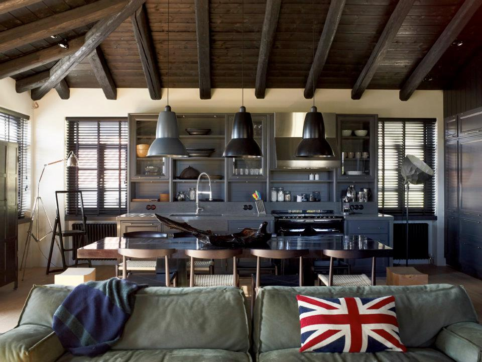 House That Combines Industrial And Traditional Style Decoholic