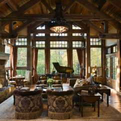 Rustic Living Rooms Decorating Room With Dark Grey Sofa 40 Awesome Ideas Decoholic Idea 11