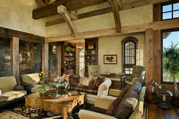 rustic living room designs chairs for rooms 40 awesome decorating ideas decoholic idea 4