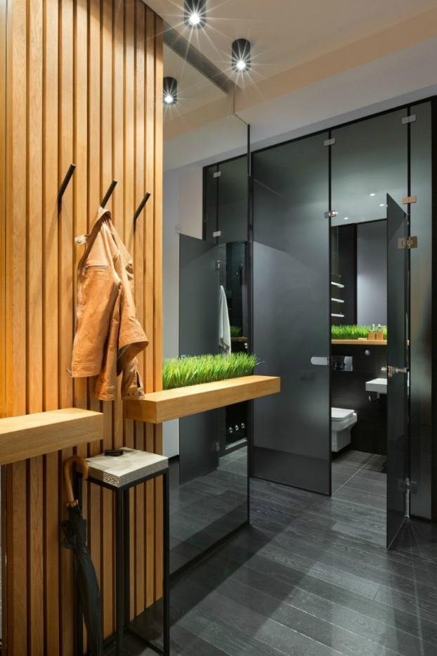 Contemporáneo de 40 metros cuadrados 430 pies cuadrados Apartamento 2