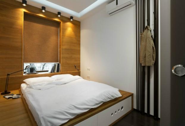 Contemporáneo de 40 metros cuadrados 430 pies cuadrados Apartamento 6
