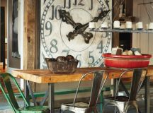 Rustic & Industrial Home With A Very Particular Design ...