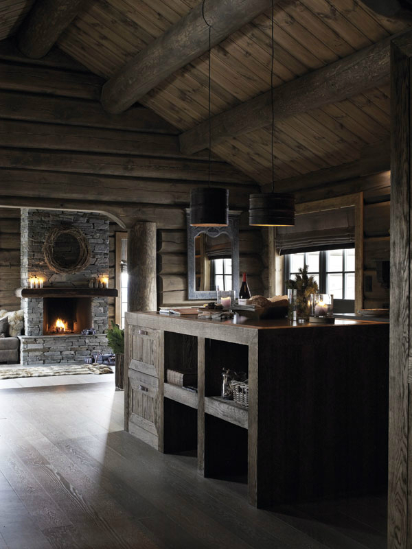 Charming Cabin With The Spirit Of The Mountains  Decoholic