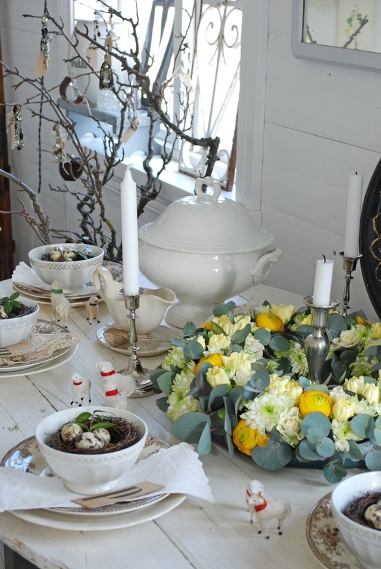 amazing easter table decorations to use