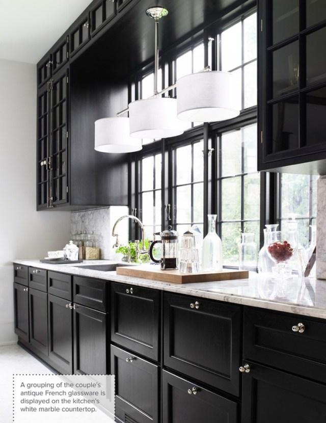 gray black kitchen 46
