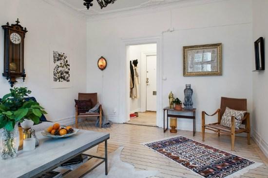 eclectic scandinavian home interior 16