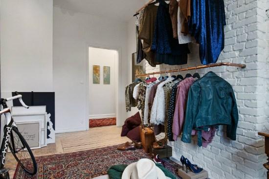 eclectic scandinavian home interior 24