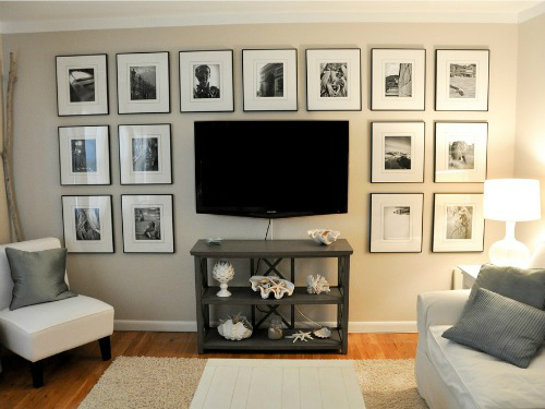 living room wall ideas with tv leather sectional 40 decor decoholic 36