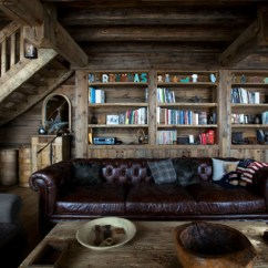 Traditional Living Room Interior Design Sectionals For Sale Magnificent Chalet Faithful To The Savoyard ...