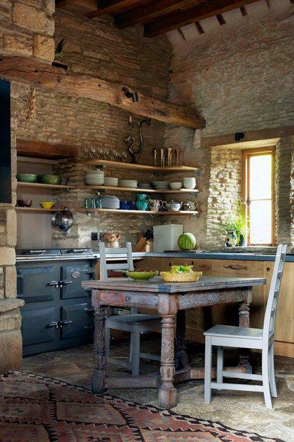 Small French Kitchen Design
