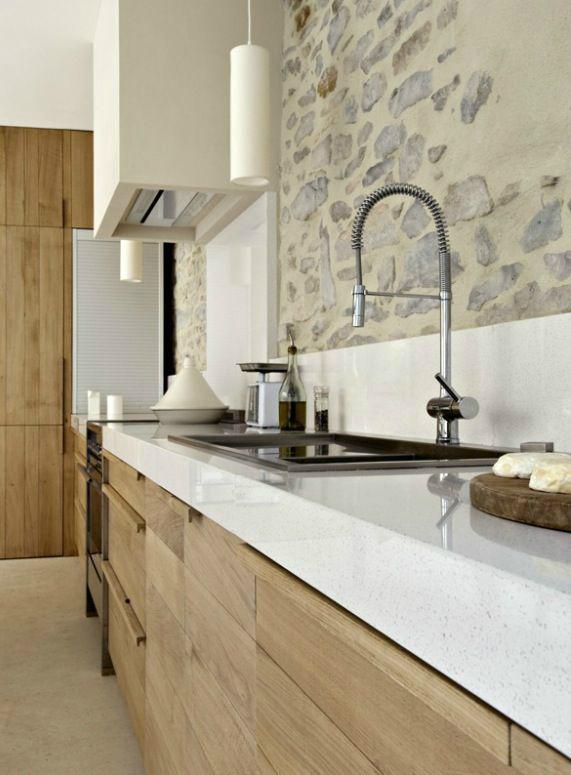 kitchen stone splashback 43 design ideas with walls decoholic 6