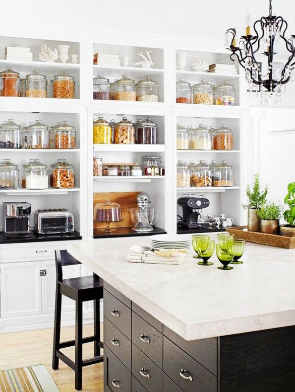 kitchen open shelves island with storage and seating 26 ideas decoholic 24