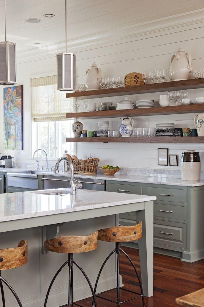26 Kitchen Open Shelves Ideas  Decoholic