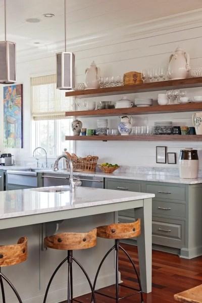 open shelving kitchen 26 Kitchen Open Shelves Ideas - Decoholic