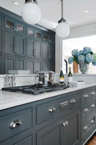 best color for gray kitchen cabinets 66 Gray Kitchen Design Ideas - Decoholic