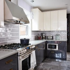 Gray Kitchen Cabinets Backsplash Gallery 66 Design Ideas Decoholic Idea 72