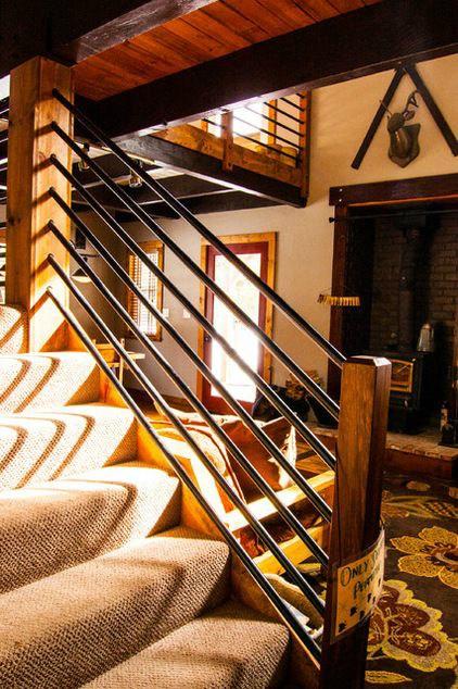 47 Stair Railing Ideas Interior Stair Rails Decoholic | Best Railing Design For Stairs | Steel | Modern Stair | Steel Railing | Stainless Steel | Staircase Remodel