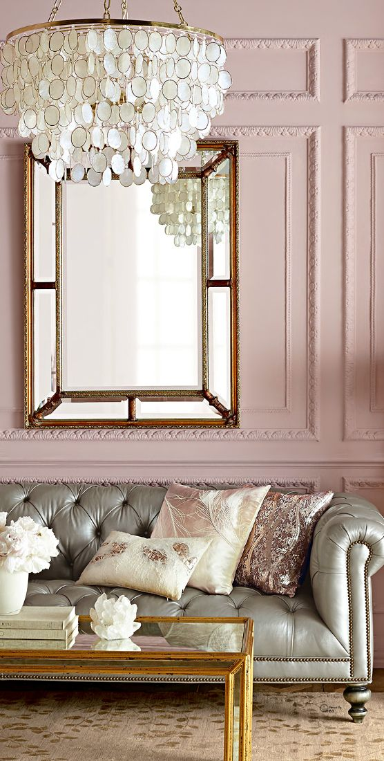 light pink living room ideas rustic curtains how to decorate with blush decoholic elegant wall and gray leather tufted sofa horhcow soft bedroom idea