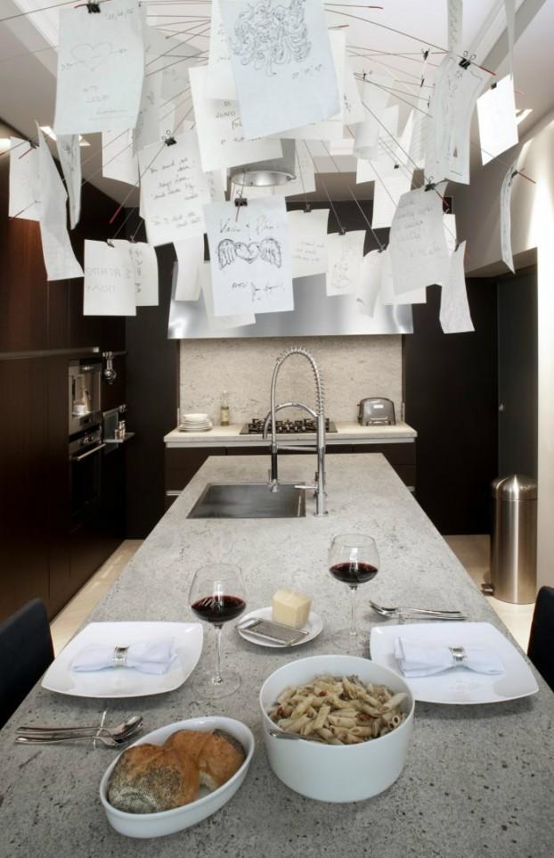new york loft style living room floor seating italian spirit - decoholic