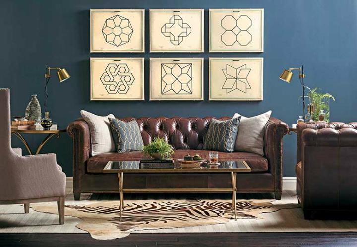 blue walls living room primitive decor 70 decorating ideas for every taste decoholic high fashion home dark wall idea