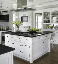 33 Inspired Black and White Kitchen Designs - Decoholic