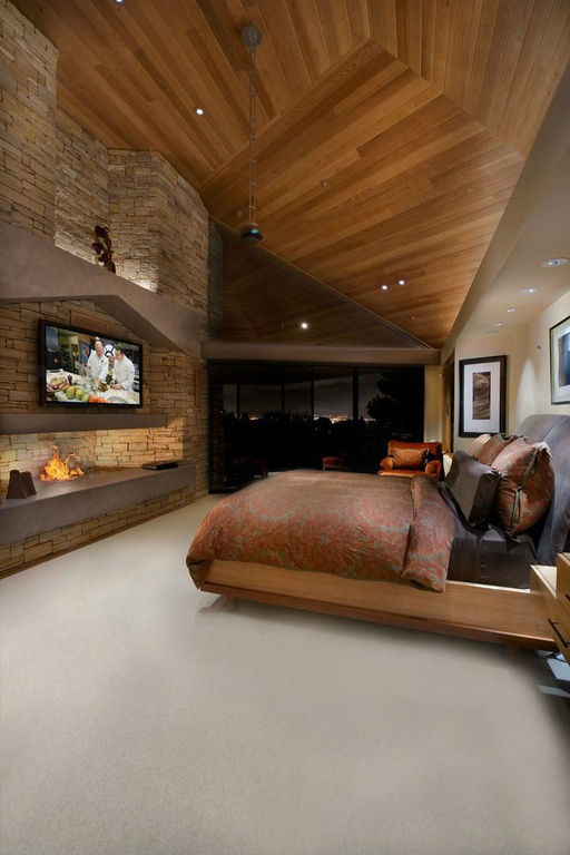 33 Bedroom Fireplace Design Ideas Fireplace In Bedroom Decoholic