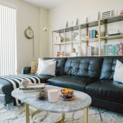 Living Rooms With Black Leather Sofas Room Rugs Home Depot How To Decorate A Sofa Decoholic Mix Of Old And New