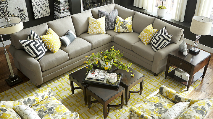 Sectional Couch Layout Ideas