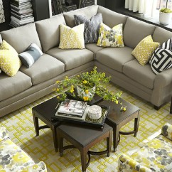 Gray And Yellow Living Room Images Brown Leather Sets 22 Real Ideas Decoholic Citrus Black White Idea