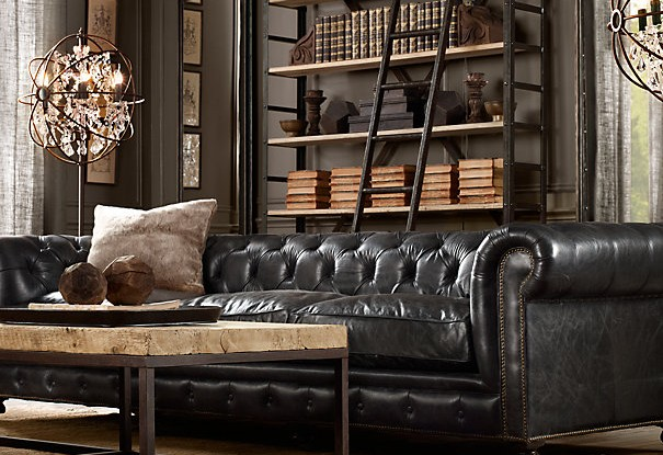 black leather couch living room design french provincial how to decorate a with sofa decoholic
