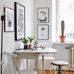 Kitchen Table Small Tables With Benches 10 Stylish Eat In Ideas Decoholic Smallkitchen 6