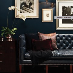 Tan Leather Sofa And Loveseat Reupholster Pillows How To Decorate A Living Room With Black ...