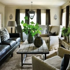 Living Room Decorating Ideas With Leather Furniture Turquoise Curtains How To Decorate A Black Sofa Decoholic Fresh Style Decoratin