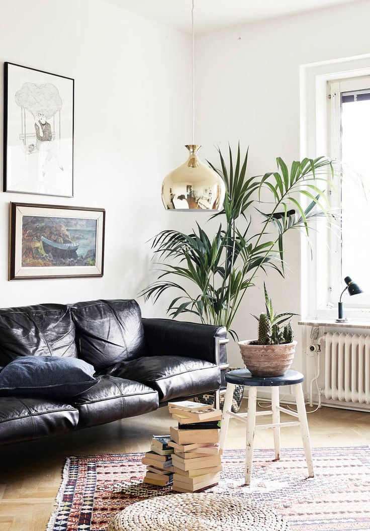 leather furniture ideas for living rooms images interior design room how to decorate a with black sofa decoholic mid century modern style