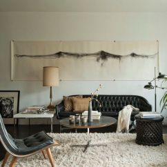 Decorate Living Room With Black Couch Decorating Ideas Burnt Orange How To A Leather Sofa Decoholic Neutral Style Decoratin