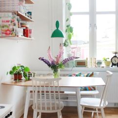 Small Kitchen Table Ideas Pre Made Cabinets 10 Stylish Eat In Decoholic Fresh Design