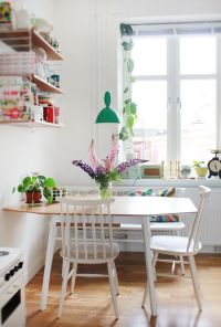 10 Stylish Table - Eat In Small Kitchen Ideas - Decoholic