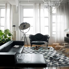 Modern Living Room Ideas With Black Leather Sofa Bernhardt Sectional How To Decorate A Decoholic Victorian Style Decoratin