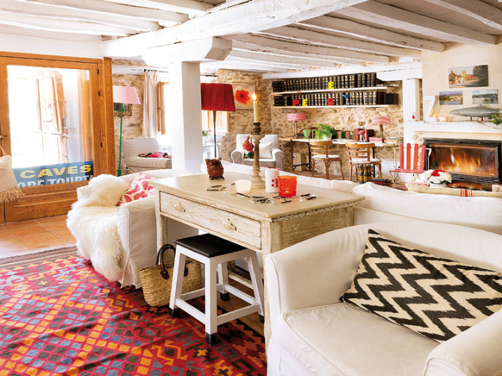 Colorful Rustic Cottage With Character  Decoholic
