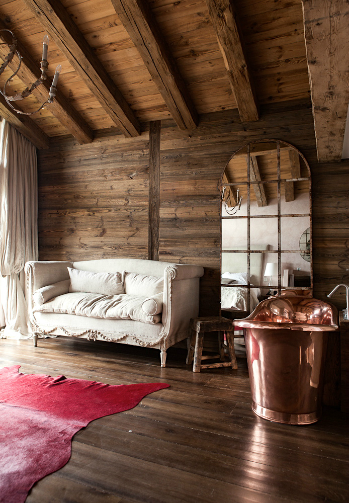Log Cabin Interior Fever  Decoholic
