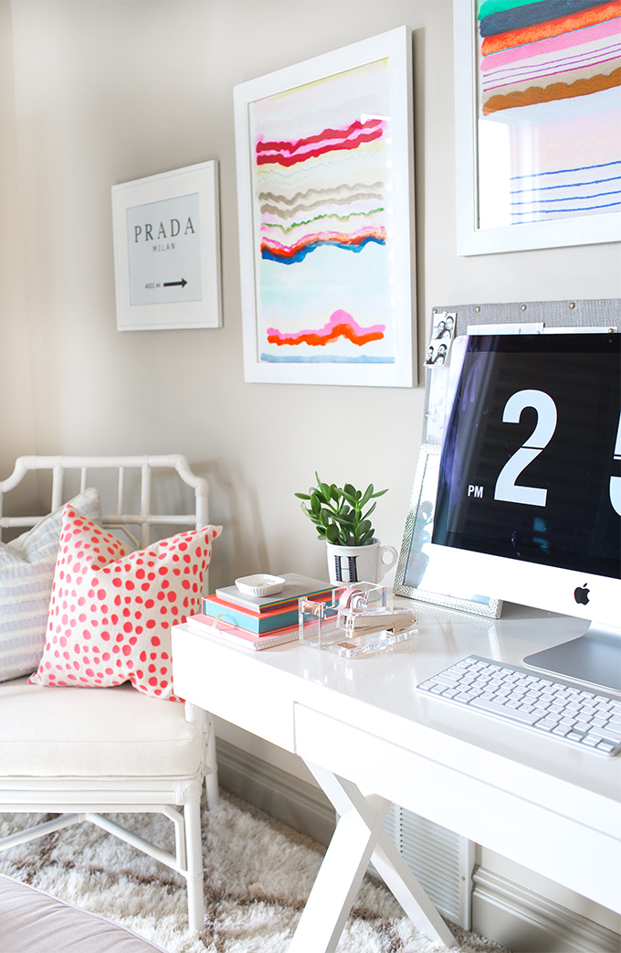 A Fashion Bloggers Home Office  Decoholic