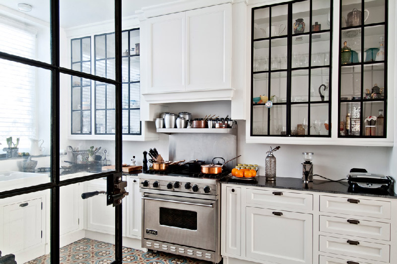 kitchen glass cabinets sink basin ideas and expert tips on cabinet doors decoholic 16
