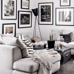 Dark Grey And White Living Room Ideas French Country Images 48 Black Decoholic Idea 2